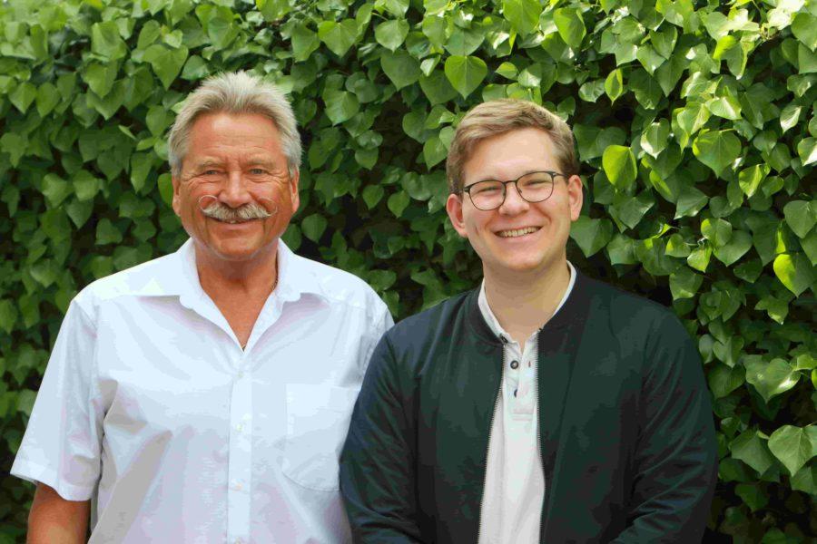 Noah Schollmeier und Roland Kramer