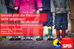 Niemals die Kleinsten vergessen! - SPD